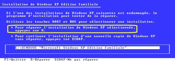 comment réparer windows 98 sans cd