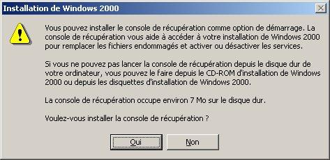 disquette de demarrage win 2000